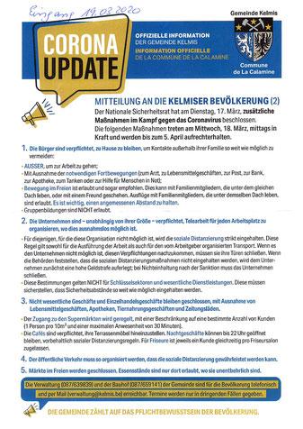 Corona, Pandemie, Hergenrathh, Öffentliches Untersuchungsverfahren, Völkersberg, Artikel 23, Belgische Verfassung