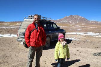 Arrivée à la frontière bolivienne