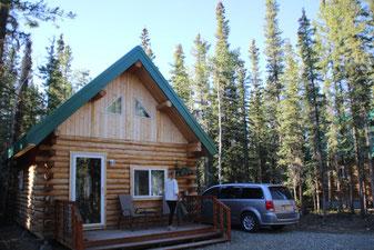 Notre super cabane à Tok
