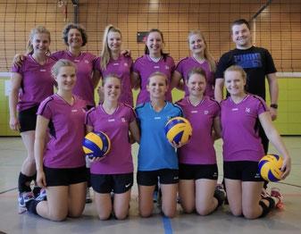 Gruppenfoto Volleyball Damen (Spielgemeinschaft mit SV Gebrazhofen)
