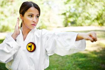 Taekwondo, Kampfsport, Selbstverteidigung, Frauen, in Rheine