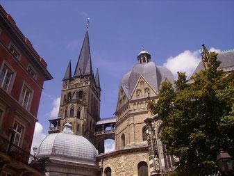 Der Aachener Dom ( Photo Martina Fey)