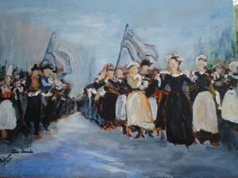 © Alain Joncourt: Celtic Parade aux Champs-Elysées