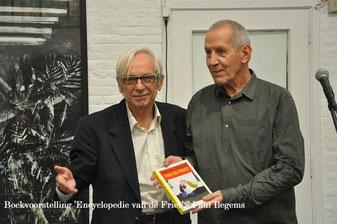 Uitgever Alexander Jonckx en Paul Ilegems