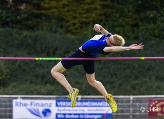Jan siebert siegte im Hochsprung der U16 mit 1,64 m. (Foto: Jan-Hendrik Ridder)