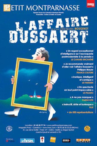 théâtre petit montparnasse, l'affaire dussaert, jacques mougenot, théâtre,