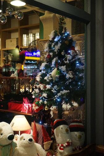 Weihnachten in china teil 3 china mittendrin for Schaufenster weihnachtsdeko