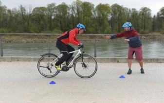 e-Bike und Pedelec Fahrsicherheitstraining in München West