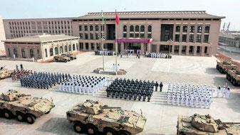 La base militare cinese a Gibuti