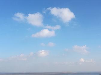 Himmel, Wolken, Herz, Herzöffnen, Vertrauen, Vergebung, Tor zum Herzen