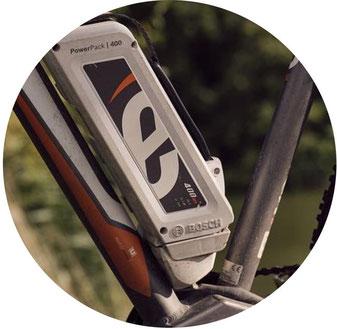 Batterie Bosch de vélo electrique