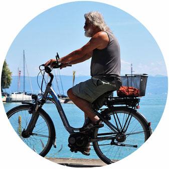 Batterie d'occasion reconditionnée vélo