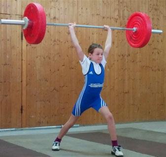 Celine Briegel - Siegerin der E-Jugend