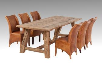 massive esstische aus altem holz altholz altholzdesign. Black Bedroom Furniture Sets. Home Design Ideas