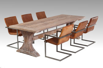 Rittertafel, Klostertisch aus alter Eiche