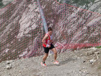 Steffen beim Nebelhornberglauf 2018