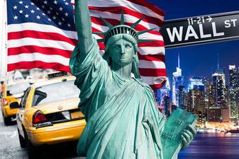 New York als Zielort des Auslandssemesters. Auslandsstudium in New York, Amerika.