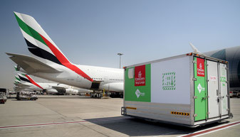 Emirates SkyFresh Cool Dolly - company courtesy