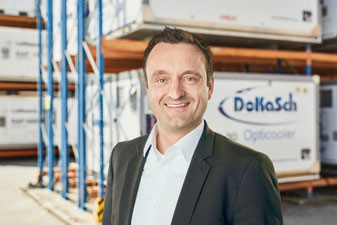 Andreas Behne's  main mission is to drive DoKaSch Temp Solution's business forward
