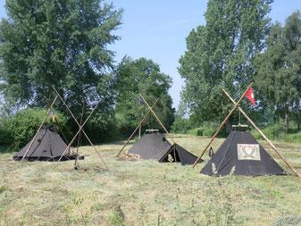Bild: Kothen der Altpfadfinder Stamm Scana