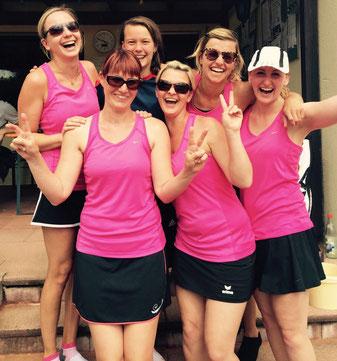 Die Damen 2 feierten beim SV Altenberg ihren ersten Sieg