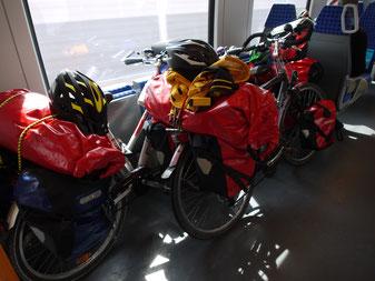 Fahrräder in der S-Bahn