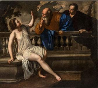 Artemisia Gentileschi, Susanna e i vecchioni – Pinacoteca Civica di Bologna