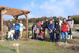 開催場所 12月15日(日)11:00から植樹祭