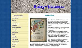 Ecran baby-boomer sur page rencontres
