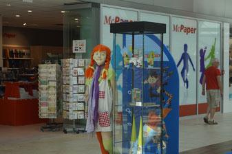 """Erlebnisausstellung vom 25.07. - 06.08. im Stadtquartier """"Neuer Markt""""."""