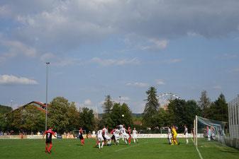 Archivbild Fußball beim Volksfest 2018, Foto: Dr. Franz Janka/Stadt Neumarkt
