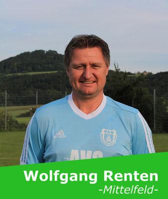 +++ Steht uns urlaubsbedingt nicht zur Verfügung: Wolfgang Renten +++
