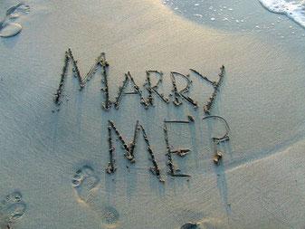 Den Heiratsantrag romantisch gestalten