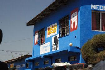 Die ASB Health Clinic in Serrekunda, Gambia (März 2014)