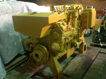 CAT 3406 Caterpillar - المحركات البحرية في العالم العربي