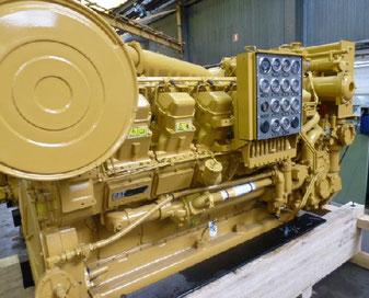 θαλάσσιων κινητήρων στην Ελλάδα CAT 3512DI-TA Caterpillar