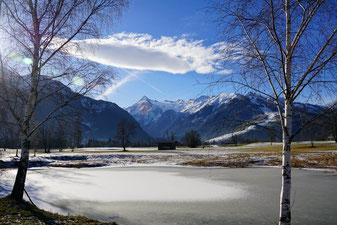 Winter landscape in the Salzburger Land