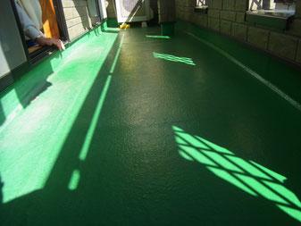 ベランダ床 塗り替え 熊本