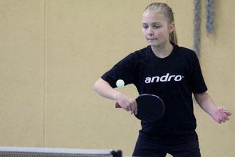 Julia Randelhoff punktet in der Mädchen NRW-Liga