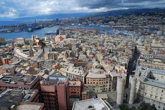 Genova-Vista panoramica