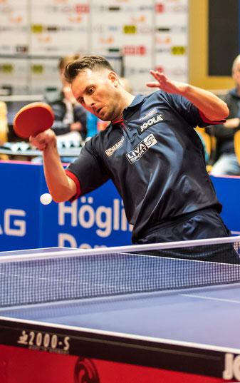 Lubomir Pistej  A-Teamspieler SPG Tischtennis Froschberg