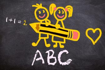 Elfchen Schulanfang, Elfchen Aufbau, Elfchen in Silbenschrift, Silbenlesen lernen, Silbenübung, Silbentrennung