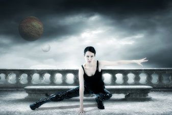 Ravienne Art Model - Foto, Dark Art, Underworld, Matrix, Trinity, Planeten