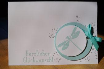 Glückwunschkarte mit Awesomely Artistic - Patricia Stich 2015