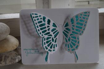Sommerliche Geburtstagskarte - Patricia Stich 2015