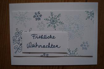 Weihnachtskarte Stampin´Up! 2014