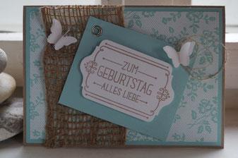 Geburtstagskarte - MtS #66 Patricia Stich 2015