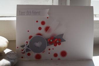 Fröhliche Karte - Patricia Stich 2015