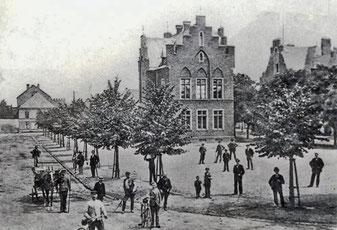 Marktplatz Lechenich, 1897 (Quelle: Wikipedia)