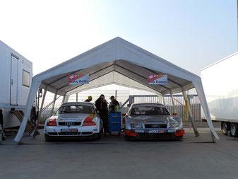 Teamzelt am Nürburgring